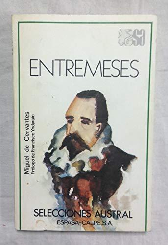 Entremeses: Miguel de Cervantes