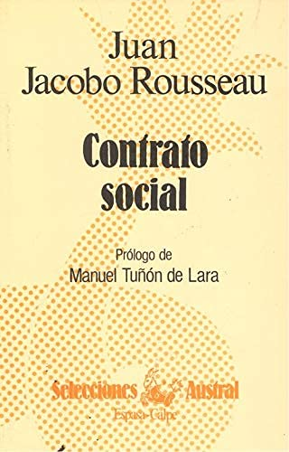Contrato Social: Juan J Rousseau