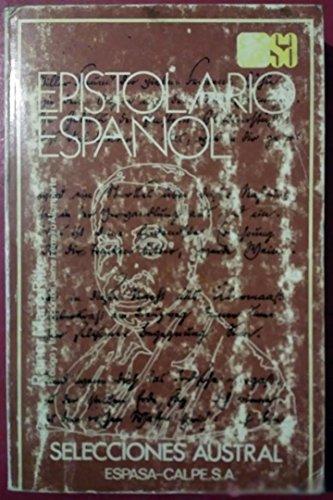 9788423920112: Epistolario Español