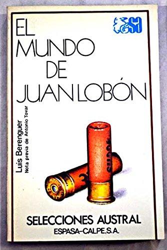 9788423920778: Mundo de Juan lobon, el