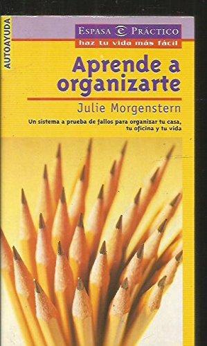 9788423924738: Aprende A Organizarte