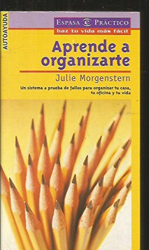 9788423924738: Aprende a organizarte (Espasa Practico)