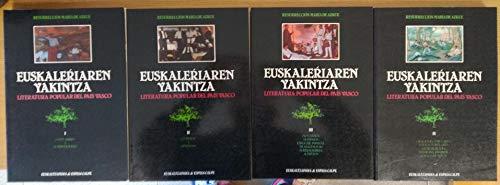 9788423925506: Euskalerriaren yakintza (I-IV)