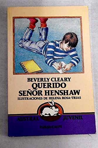 9788423927661: Querido Senor Henshaw / Dear Mr. Henshaw (Spanish Edition)