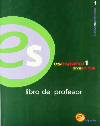 EsEspañol 1. Nivel elemental. libro del profesor.: ALCOBA, Santiago e.a. (coord.)