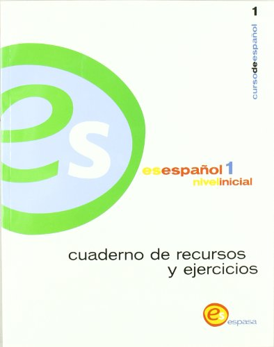 9788423929160: Es español 1, nivel inicial : cuaderno de recursos y ejercicios