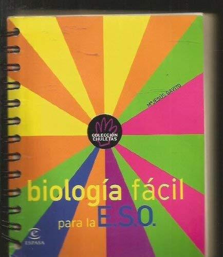 9788423935789: Biologia facil para la E.S.O.