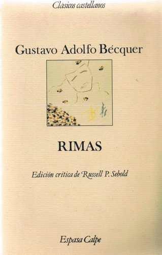 Gustavo Adolfo Becquer Rimas Zvab