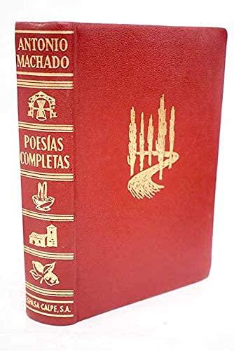 Machado-poesias comp.piel: Antonio Machado