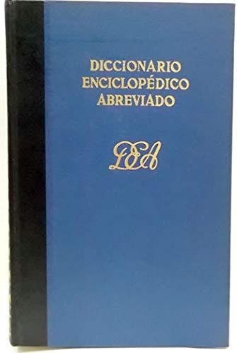 Diccionario enciclopédico abreviado : versiones de la