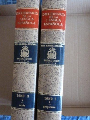 9788423947775: Diccionario De LA Lengua Espanola Real Academia (Spanish Edition)
