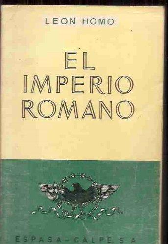 9788423949038: Imperio romano, el