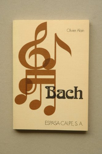 Bach - EC - (Spanish Edition): Alain