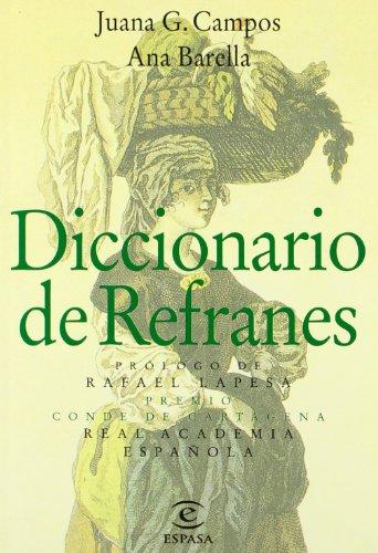 9788423959846: Diccionario De Refranes