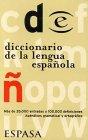 Diccionario De LA Lengua Espanola (Espasa De: Espasa