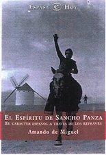 9788423966394: El espiritu de sancho panza (e.hoy)
