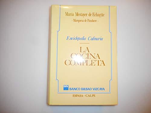 COCINA COMPLETA, LA: maria_mestayer