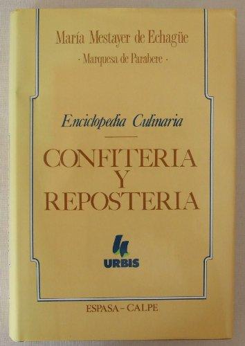 9788423967384: ENCICLOPEDIA CULINARIA CONFITERIA Y REPO