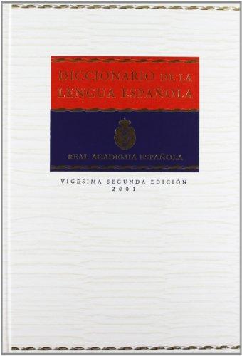 9788423968138: Diccionario de la Lengua Espanola (Vol 1) (Spanish Edition)