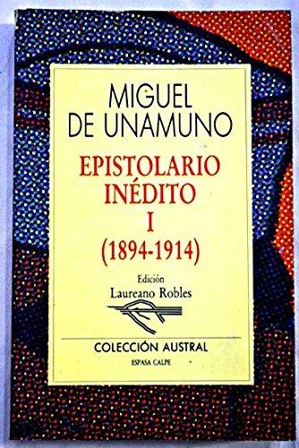 9788423971152: Epistolario inedito (Colección Austral)