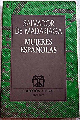 9788423971985: Mujeres españolas (Colección Austral)