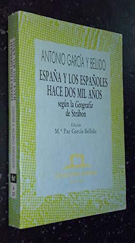 9788423972036: España y los españoles hece dos mil años