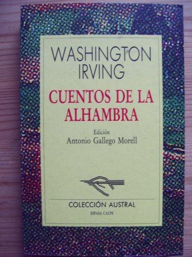 9788423972098: Cuentos de la alhambra (Nuevo Austral)