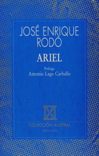 9788423972166: Ariel (Colleccion Austral) (Spanish Edition)