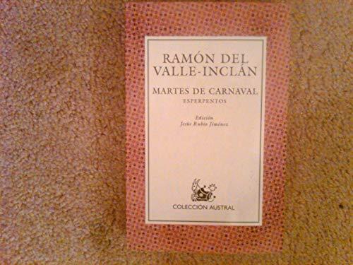 9788423972562: Martes De Carnaval, Esperpentos