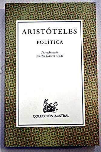 Politica / Politics (Austral) (Spanish Edition): Aristotle