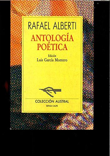 9788423972784: Antologia poetica.alberti