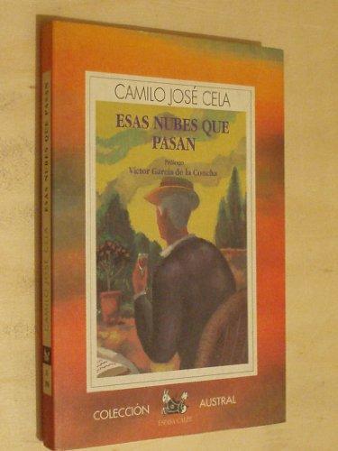 9788423972906: Esas nubes que pasan (Colección Austral. Literatura/contemporáneos)
