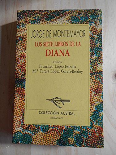 9788423973095: Los siete libros de la Diana