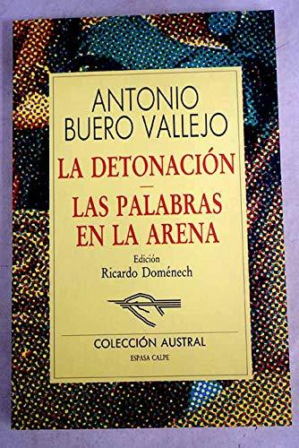 9788423973156: La Detonacion: Las Palabras En La Arena (Spanish Edition)