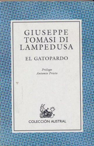 9788423973187: Gatopardo, el (Nuevo Austral)