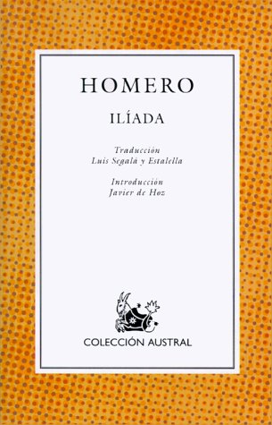 9788423973378: Iliada (Nuevo Austral)