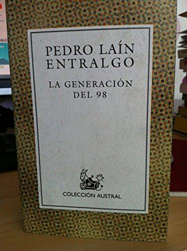 9788423974054: La Generacion Del 98