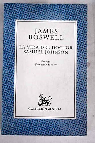 9788423974160: Vida del doctor Samuel johnson