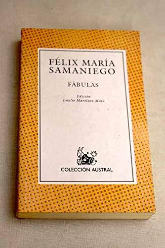 FABULAS EN VERSO CASTELLANO PARA EL USO: Mata, Samaniego Felix