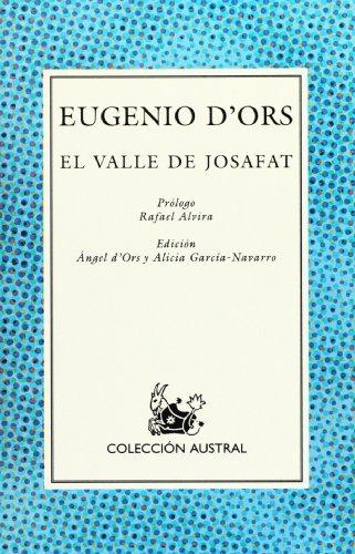 9788423974573: El valle de Josafat (Spanish Edition)