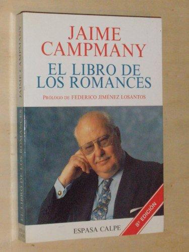9788423978045: El libro de los romances