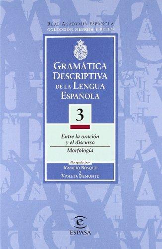 9788423979202: Gramatica descriptiva 3