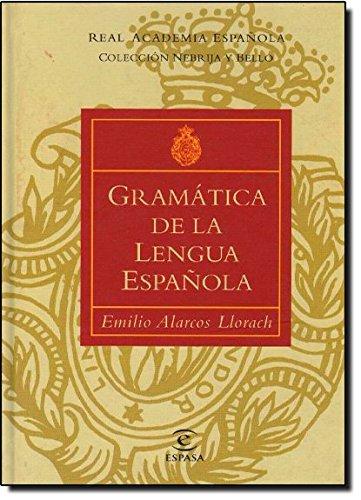 9788423979226: Gramatica de la Lengua Espanola (Spanish Edition)