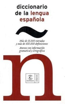 9788423981267: Espasa De Bolsillo - Diccionario De La Lengua Espanola (Spanish Edition)