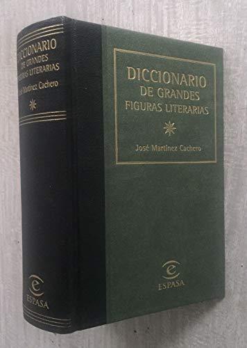Diccionario de grandes figuras literarias: Martínez Cachero, José