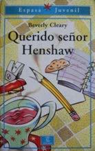 9788423988709: Querido sr. henshaw