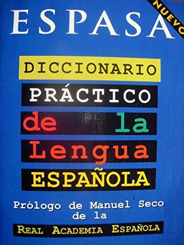 9788423990696: Diccionario Practico de la Lengua Espanola / Practical Dictionary of the Spanish Language (Spanish Edition)