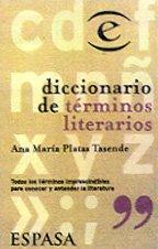9788423992614: Diccionario de términos literarios (Spanish Edition)