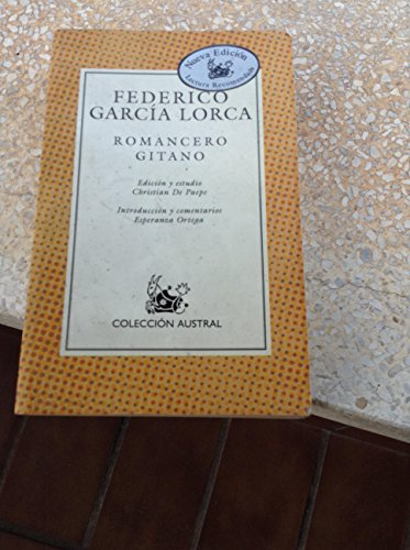 Romancero Gitano: Garcia Lorca