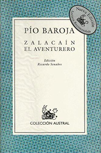 Zalacain el Aventurero: Baroja, Pio